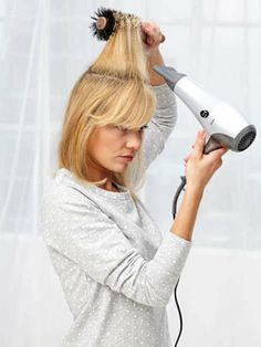 How to blow-dry your hair like a pro.