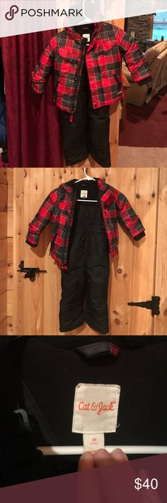 Snow suit 2 piece 2t snow suite pants and jacket. Worn only a few times cat and jack Other