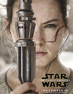 Rey official poster #TheForceAwakens #StarWars