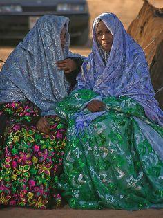 Tuareg Women - The Tuareg are a Berber nomadic people.