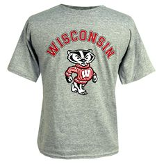 Wisconsin Youth Arch Bucky T-Shirt