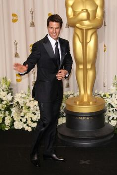 Tom Cruise at the Academy Awards in 2012