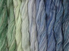 Blended Fibre with seamless colour changes. Color Inspiration, Color Change, Spinning, Fiber, Mountain, Packing, Colours, Bag Packaging, Hand Spinning