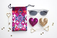 DIY Sunglasses Pouch - yet another reason i need to learn to sew