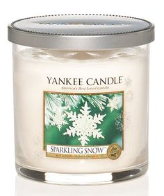 Another great find on #zulily! Sparkling Snow 7-Oz. Tumbler Candle #zulilyfinds
