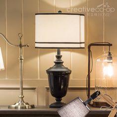Black U0026 White Resin Table Lamp ☆ Creative Co Op Home