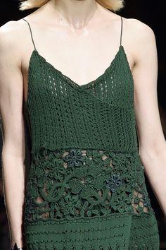 wgsn:Stunning knitwear details seen at @Ferragamo #AW15 #MFW