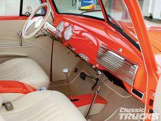 1952 Chevy very pretty interior