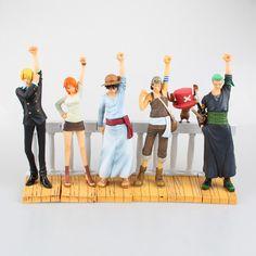 62.99$  Buy now - http://aliiau.worldwells.pw/go.php?t=32703630222 - Anime One Piece 6PCS/SET DRAMATIC SHOWCASE 1st Season Luffy Zoro Nami Usopp Sanji Chopper PVC Action Figures Collectible Toys