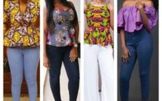 Hi ladies, this goes out to lover of ankara fabrics, Here are some great beautiful simple Ankara Top and trouser to rock this weekend. this is really simple and smart. below are the top ten selected design for the week.. Like and share