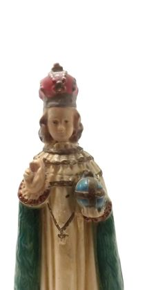 Infant of Prague Heavenly Protector statue by Infant Of Prague, Heavenly, Catholic, Saints, Angels, Statue, Christmas Ornaments, Holiday Decor, Handmade Gifts