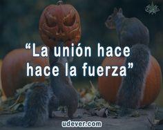 """""""La unión hace la fuerza""""  #Frases #FrasesUdever"""