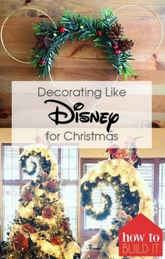 Decorating Like Disney for Christmas| Decorating Like Disney, Christmas, DIY Christmas Decor, Disney Christmas, Disney Christmas Decor, Holiday Home, Holiday Home Decor, #Christmas #DisneyChristmas #DisneyChristmasDecor #HolidayHomeDecor