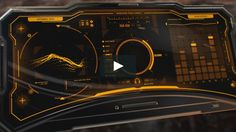 Futuristic User Interface and device.  Tools used: Illustrator, Photoshop, Fusion 360, After Effects.  See the full project at https://www.artstation.com/artwork/Q6k2d…