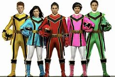 power rangers in all flavors