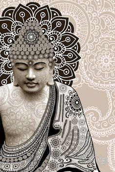 Meditation Mehndi - http://www.greatbigphotos.com/products/meditation-art-work/meditation-mehndi/