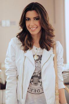 Adoro quando a Camila Coutinho (Garotas Estúpidas)vem me visitar, sempre animada e antenada, ela é uma inspiração! Na sua última visita, Camila, que semp