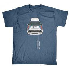 Lancia Delta HF Integrale  - Rallying - T-Shirt