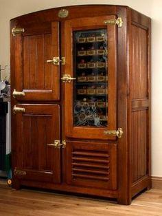R U S T I C ✜ comfort ~ modern fridge with a rustic twist