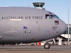 RAAF C-17 at Christchurch  Type: Boeing C-17A Globemaster III Registration: A41-207 Location: Christchurch International Airport Date: 26/07/2010