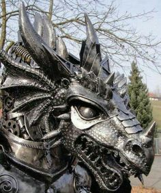 Dragon head armor
