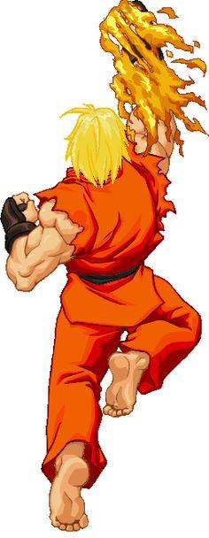 Resultado de imagem para street fighter 2 ken