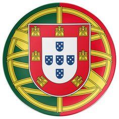 Portugal Coat Of Arms Car Bumper Sticker Decal x