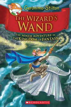 Blossom, Queen of the Fairies, has disappeared, along with three powerful magical objects, the Book of a Thousand Spells, the Crystal Sphere, and the Whispering Wand, and Geronimo Stilton is once again called on to confront an evil wizard, rescue the Queen, recover the objects, and save the entire Kingdom of Fantasy.