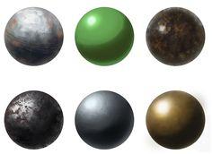Material Studies 0002 - More Metals by toastcrumbs.deviantart.com on @deviantART