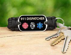 Key Fob - 911 Dispatcher Tag