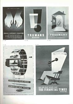 Posters by Abram Games  Graphis magazine 1953