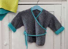 Описание вязания на спицах теплой распашонки из журнала «Вязание. Burda» №1/2015