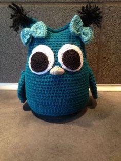 Jubii Mail :: Vi tror, at du vil synes om disse pins Crochet Owls, Crochet Pillow, Crochet For Kids, Crochet Animals, Diy Crochet, Crochet Baby, Crochet Patterns, Knitting Patterns, Magic Circle Crochet