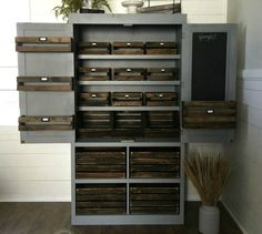 s 11 easy ways to expand tight spaces using crates, storage ideas, Double your pantry space in a gorgeous way