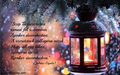Juhász Gyula idézet a decemberről. A kép forrása: Napi Boldogság