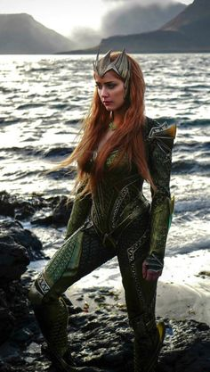 Amber Heard as Mera in 'Justice League'                                                                                                                                                                                 More