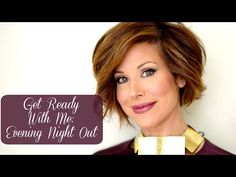 """Evening Out Makeup & Hair Tutorial with Dominique Sachse - YouTube ... This video shows my """"getting ready"""" process from start to finish with full makeup, hair and a peek at my outfit for an evening out. Though it's still very warm out I am already incorporating some of my favorite upcoming Fall trends."""