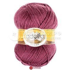 Пряжа Аделия Лукас (ADELIA Lucas) цвет №09 брусничный