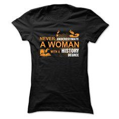 HISTORY DEGREE T-Shirts, Hoodies. GET IT ==► https://www.sunfrog.com/Geek-Tech/HISTORY-DEGREE-Ladies.html?id=41382