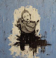 NURI / 100 x 95 cm / acrylic on canvas / 2012 by Lilja Bloom