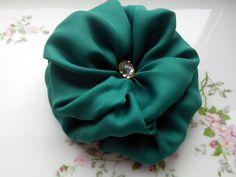 Handmade fabric flower http://www.etsy.com/shop/LyleFlowersShop