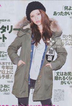 Vivi Magazine - Jan 2013  Parka