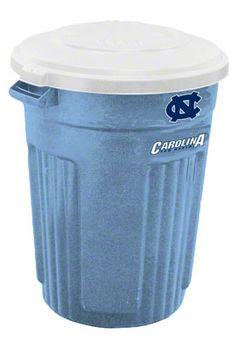 North Carolina Tar Heels 32 Gallon Trash Can