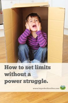 Don't you wish your kids would just listen? Why does everything turn into a power struggle? This positive parenting tip will help you set firm limits, while still treating your kids with respect.  Read sample scripts  and learn more about how to eliminate power struggles in your home. If you're tired of the power struggles with your kids, it's time to try something new. Learn how to use positive parenting to set firm limits in your house.