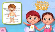 Know about the whole body parts of the human body in a fun way with this #EducationalGame.