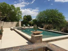 Gorgeous pool and decking by #KnippContracting.