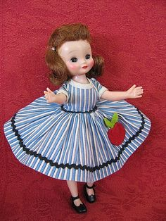 """8 INCH VINTAGE ALL ORIGINAL """"BETSY MCCALL"""" DOLL FROM THE 50'S"""