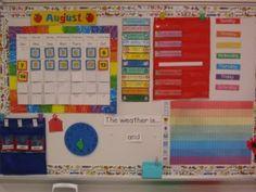 My Calendar Board Calendar Board, School Calendar, Classroom Organization, Classroom Ideas, Elementary Math, Teaching Tools, Kindergarten, Homeschool, Teacher