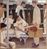 'The Rookie' - Norman Rockwell