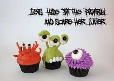 Great cupcakes for halloween school party